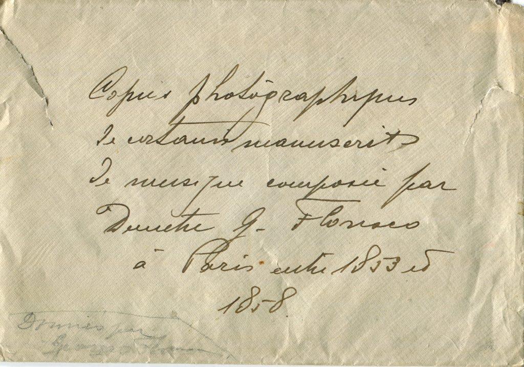 Plic poze compozitii D Florescu Paris